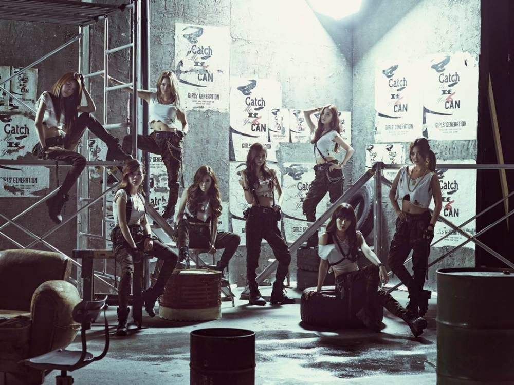 Girls Generation S Catch Me If You Can Choreography Deserves