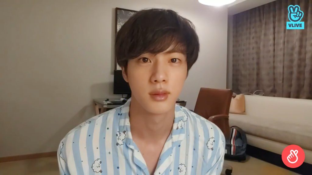 Bts Jin Reveals He Gave His Agency No Choice But To Let Him Dye